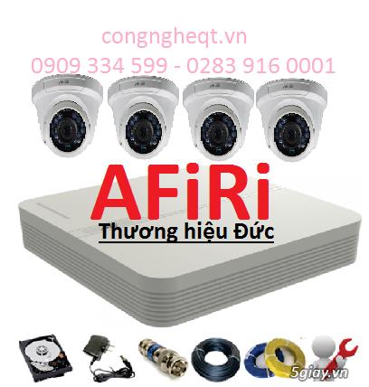 Giá Sập Sàn: Trọn bộ 4 Camera AFiRi thương hiệu ĐỨC chỉ với: 4,795,00đ