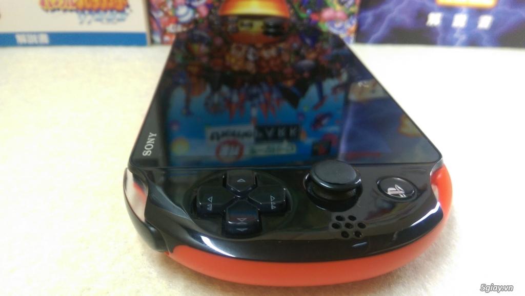 Máy PS Vita 2000 hack full phụ kiện - 2