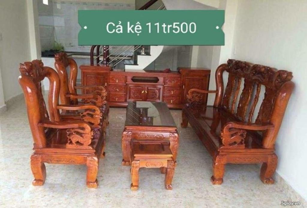 Bộ bàn ghế minh quốc đào gỗ xoan ta