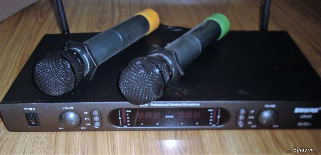Thanh lý đầu Karaoke MUSICCORE TS-9 HDD + Micro Không dây Shure - 1