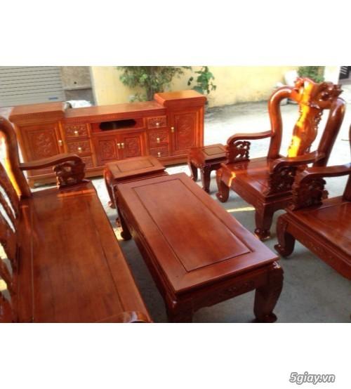 Bộ bàn ghế minh quốc đào gỗ xoan ta - 6