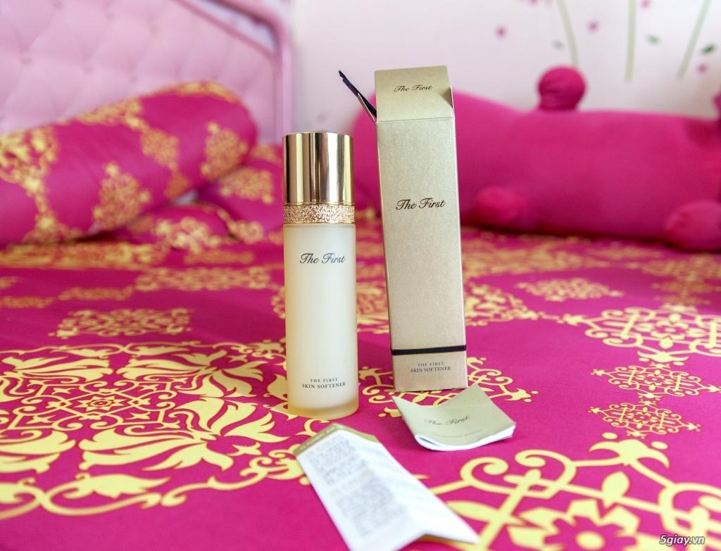 Thanh lý nước hoa OHUI The first skin softener mới 100%, fullbox