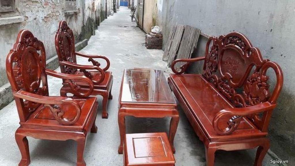 Bộ bàn ghế guột gỗ nhãn phun PU