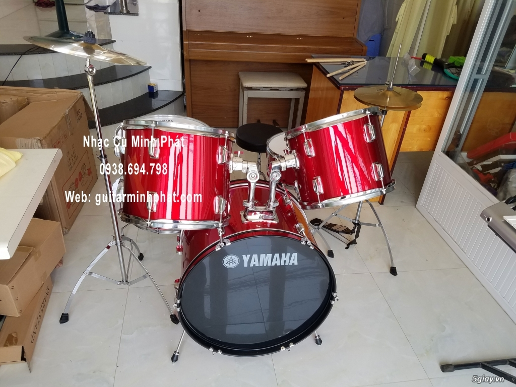 Bán Bộ trống jazz giá rẻ - drum jazz yamha - drum jazz lazer - 3