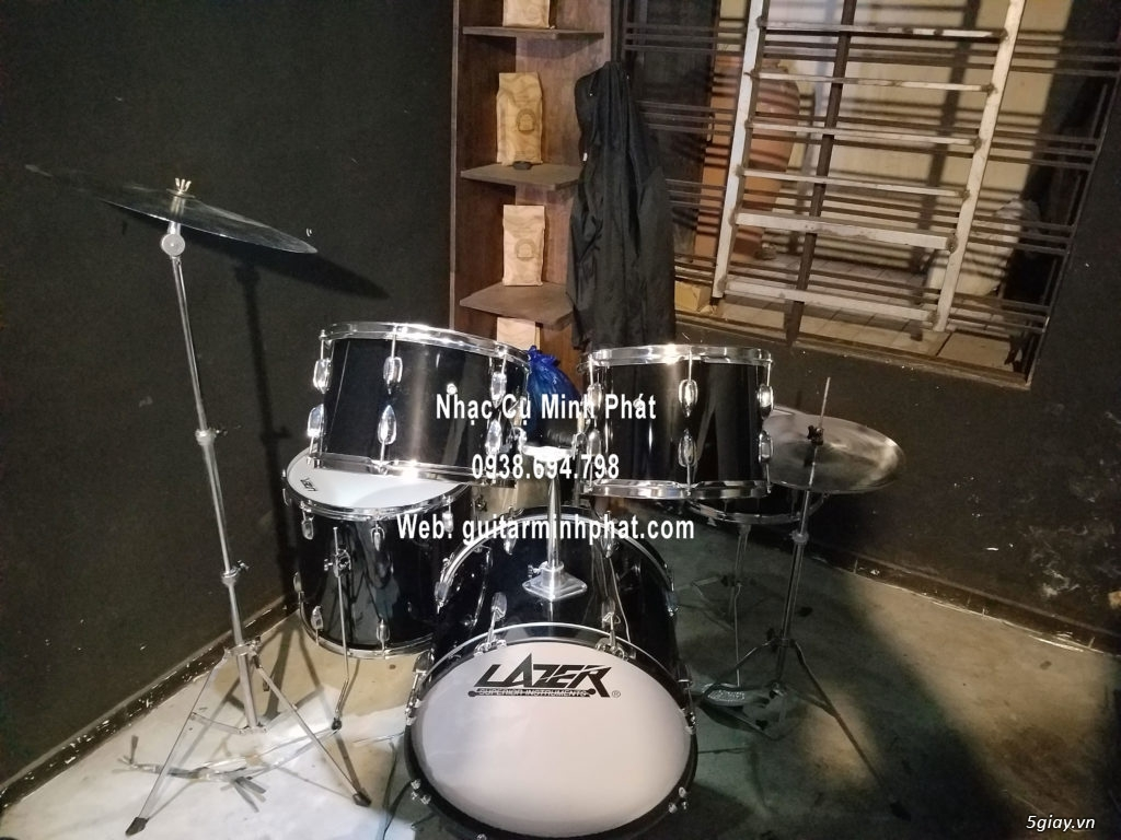 Bán Bộ trống jazz giá rẻ - drum jazz yamha - drum jazz lazer - 5