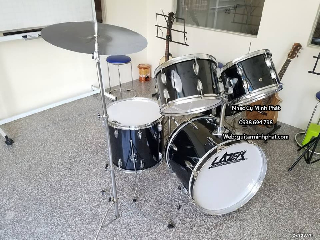 Bán Bộ trống jazz giá rẻ - drum jazz yamha - drum jazz lazer - 12