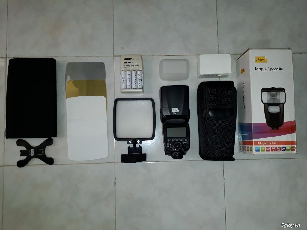 Nguyên bộ máy ảnh Canon full box, đầy đủ phụ kiện. - 1