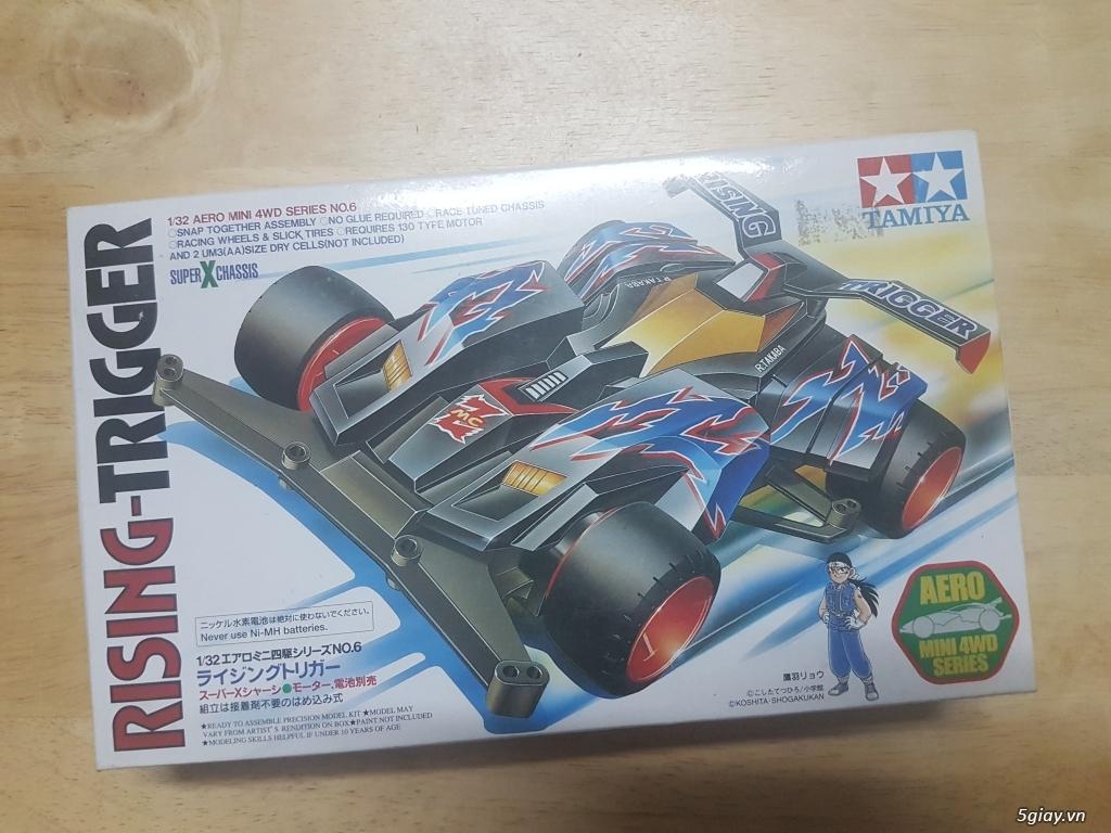 Xe Tamiya mini 4WD Rising Trigger