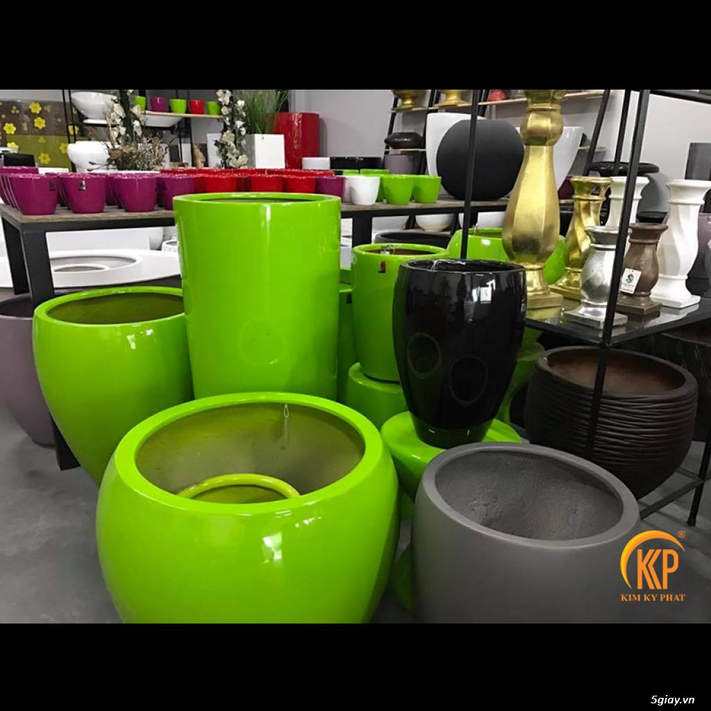 Kim Kỳ Phát - Chậu trồng cây composite KKP cao cấp - Không bể vỡ - 3