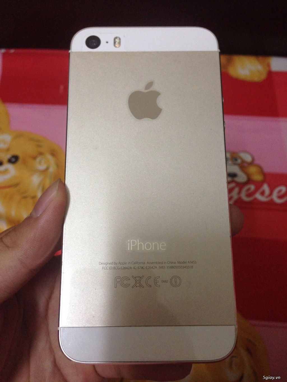 Iphone 5S 32Gb quốc tế - 1