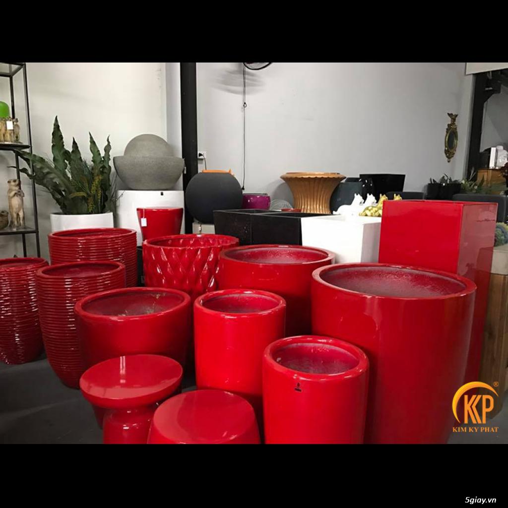 Kim Kỳ Phát - Chậu trồng cây composite KKP cao cấp - Không bể vỡ - 2