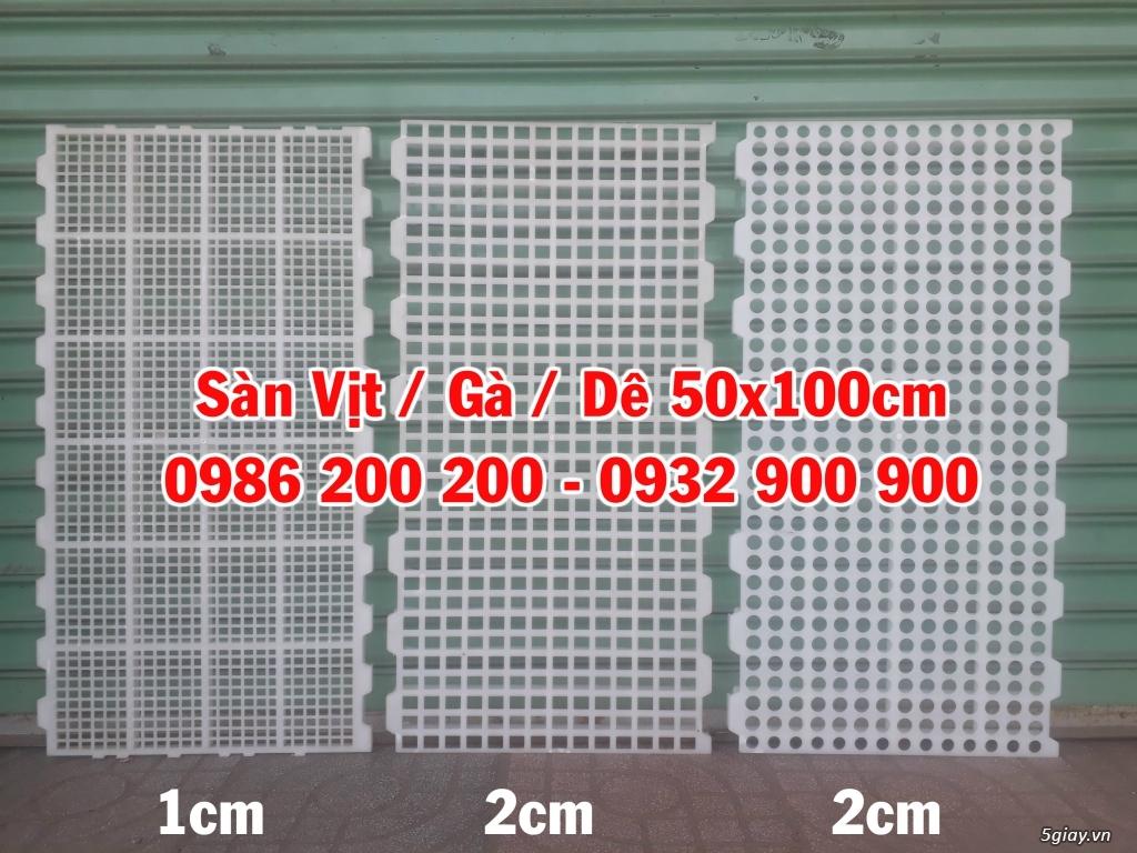 HCM-VT : Bán tấm nhựa lót sàn chuồng chó, mèo, heo, dê - 0986200200 - 13