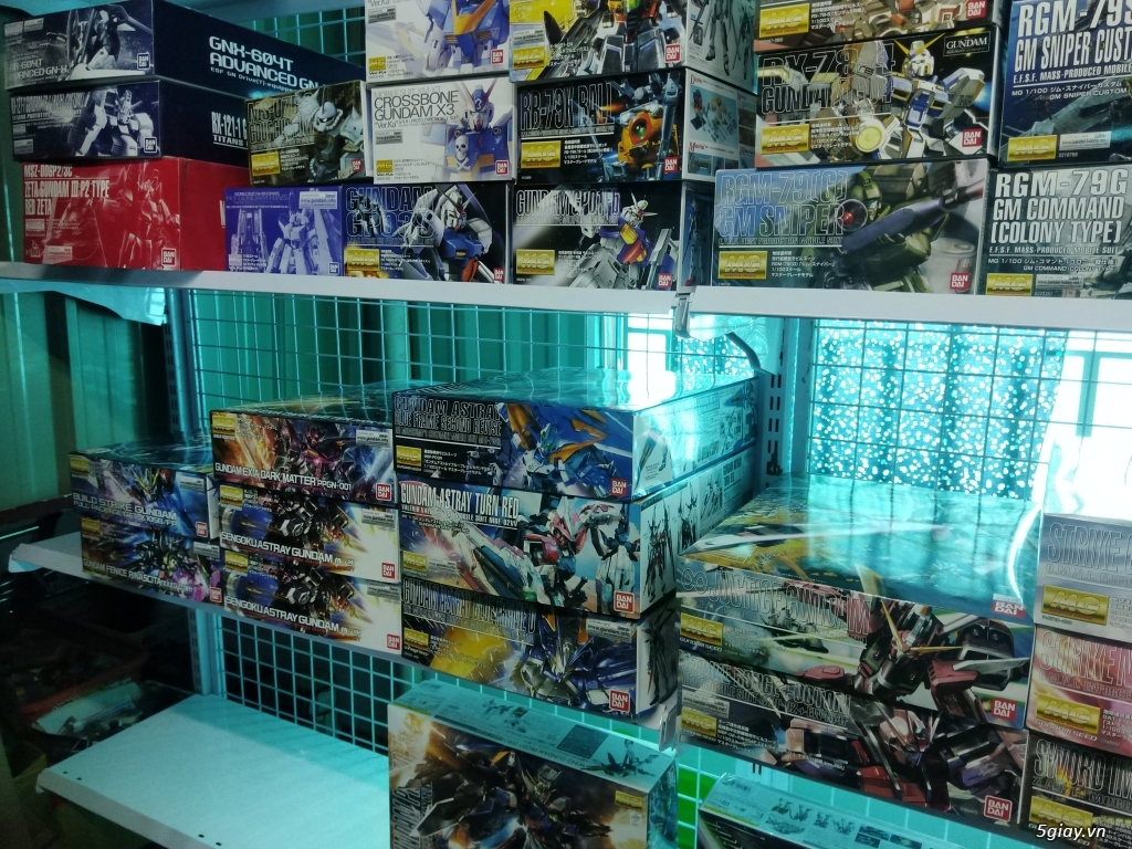 Gundam - Mô hình lắp ráp phát triển trí tuệ , chỉ có tại GundamstoreVN - 10