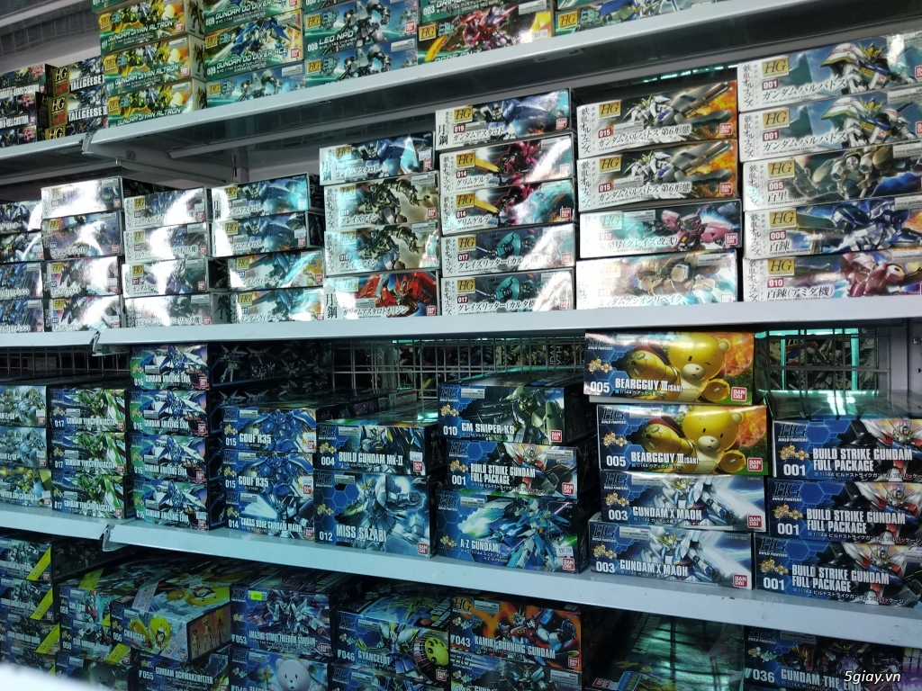 Gundam - Mô hình lắp ráp phát triển trí tuệ , chỉ có tại GundamstoreVN - 3
