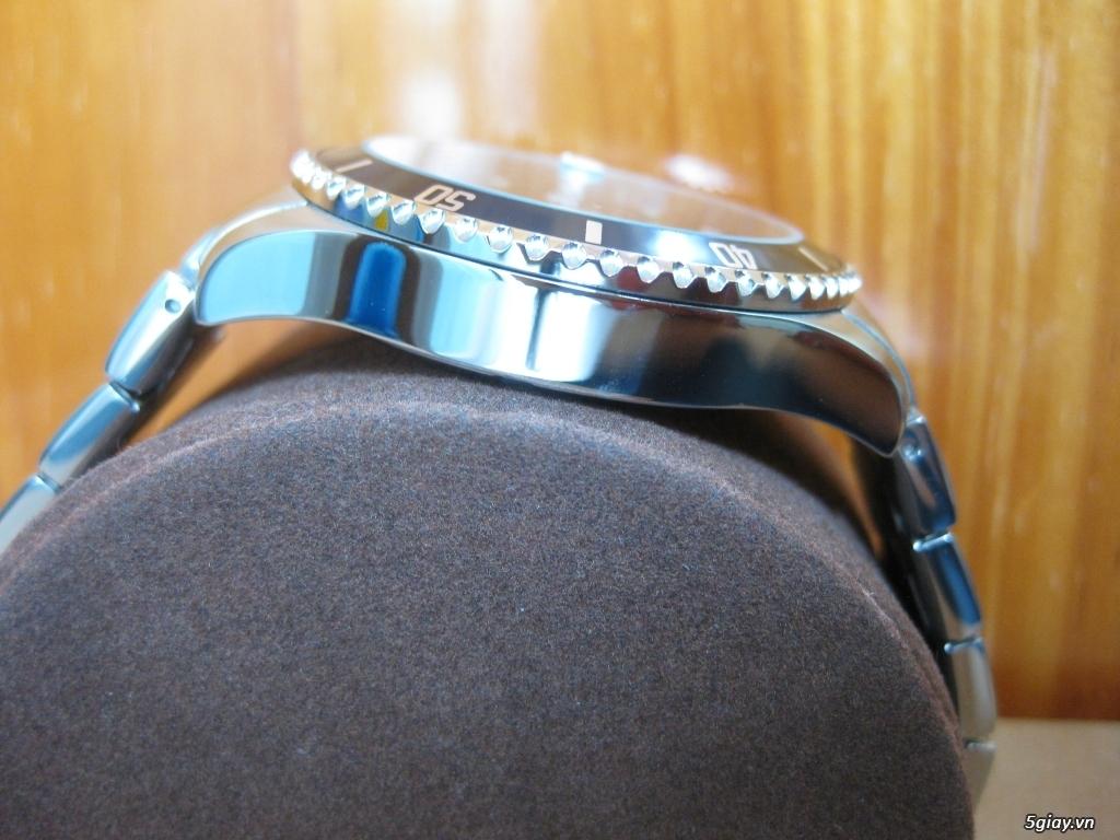 Đồng hồ chính hãng của Mỹ dư xài máy pin Quazt , máy tự động Automatic - 8