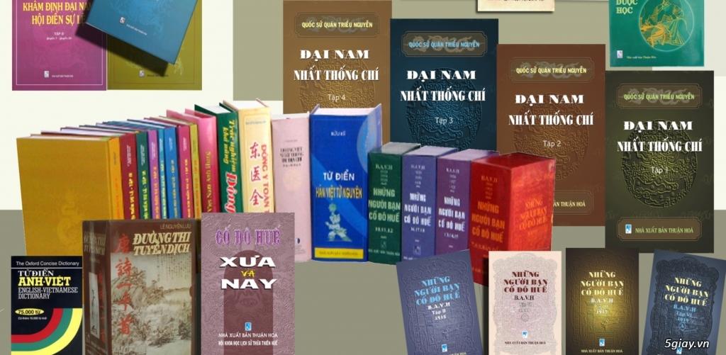 Tư vấn in ấn, xuất bản sách - Nhà xuất bản Thuận Hóa