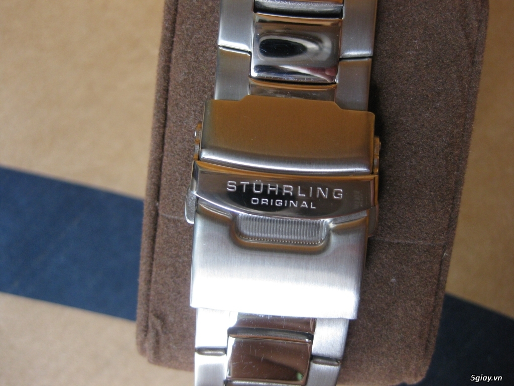 Đồng hồ chính hãng của Mỹ dư xài máy pin Quazt , máy tự động Automatic - 12