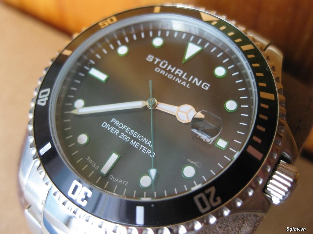 Đồng hồ chính hãng của Mỹ dư xài máy pin Quazt , máy tự động Automatic - 11