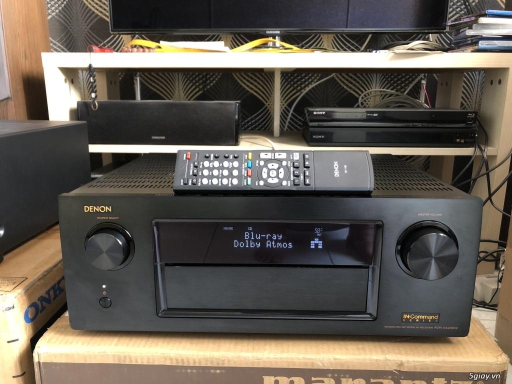 Receiver và ampli (nghe nhạc & xem phim-3D-dtsHD-trueHD-HDMA)loa-center-sub-surround. - 2