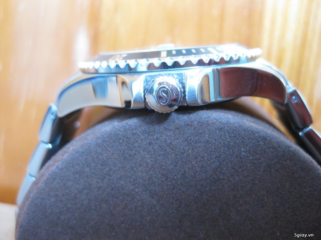 Đồng hồ chính hãng của Mỹ dư xài máy pin Quazt , máy tự động Automatic - 9