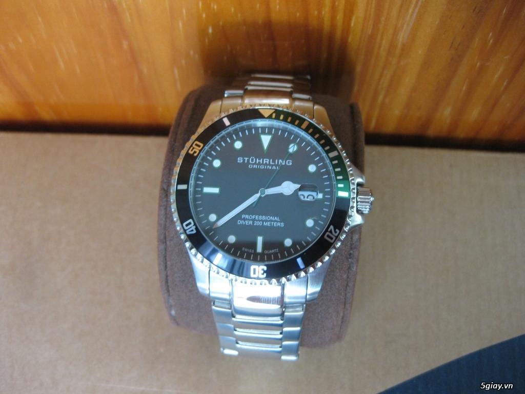 Đồng hồ chính hãng của Mỹ dư xài máy pin Quazt , máy tự động Automatic - 10