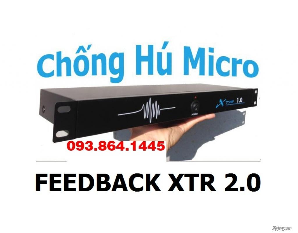 Chống hú Micro Xtr 2.0 cho giàn âm Thanh không còn hú hí - 2