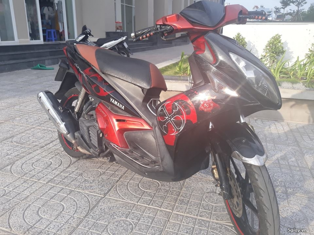 Nouvo LX 135cc Đỏ Đen 2009 Biển TP.HCM đúng chính chủ - 3