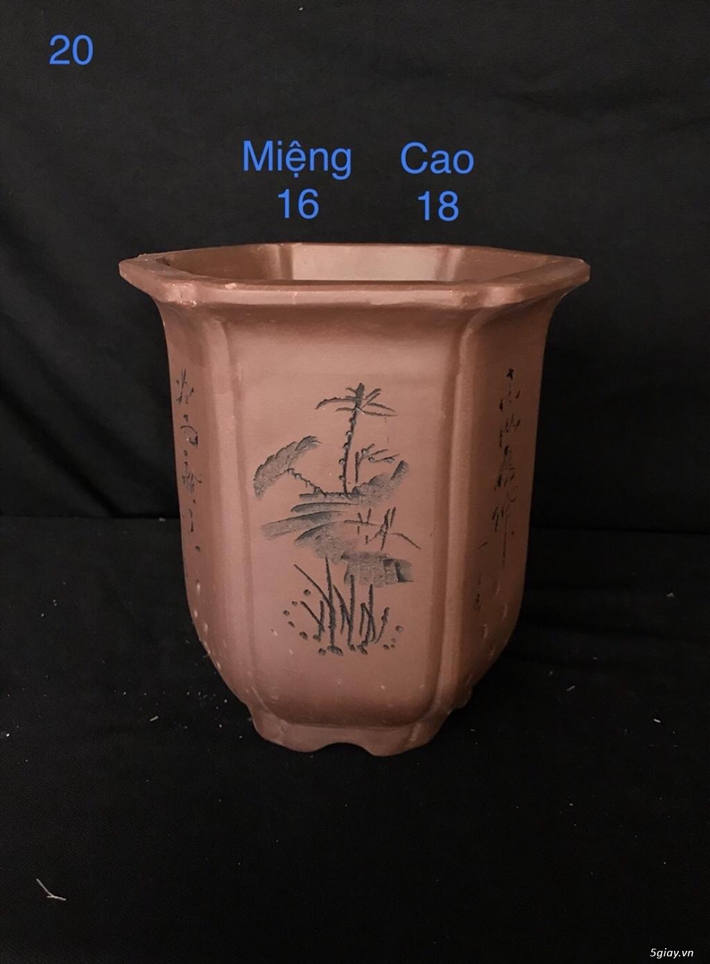 Chậu cây bonsai nhập khẩu, đẹp, có giá sỉ và lẻ cho a/e, 0962118575 - 14