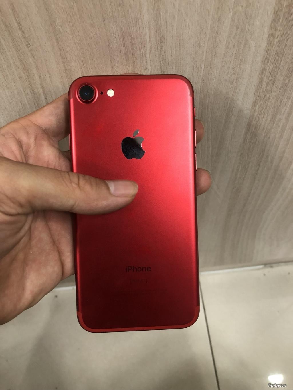 Iphone 7 128G màu đỏ quốc tế - 1