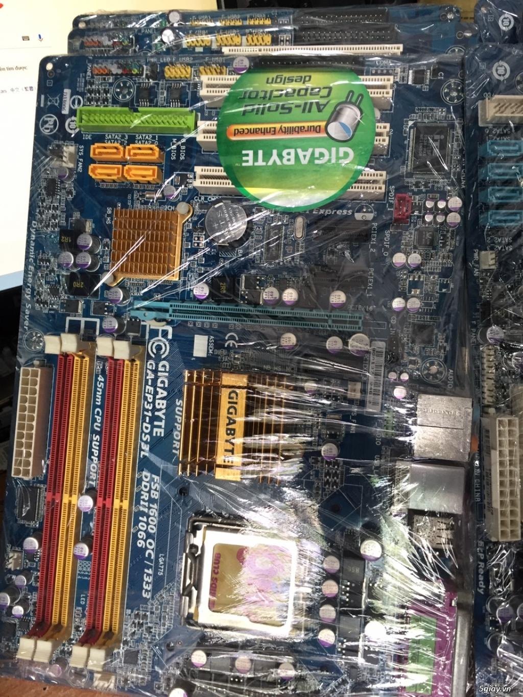 Thanh lý main gigabyte G31, G41, P35 card rời, P41 card rời - 2