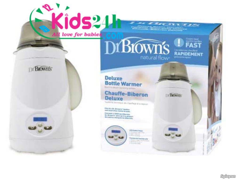 Máy hâm sữa và tiệt trùng 1 bình siêu tốc Dr.Brown's Deluxe 851