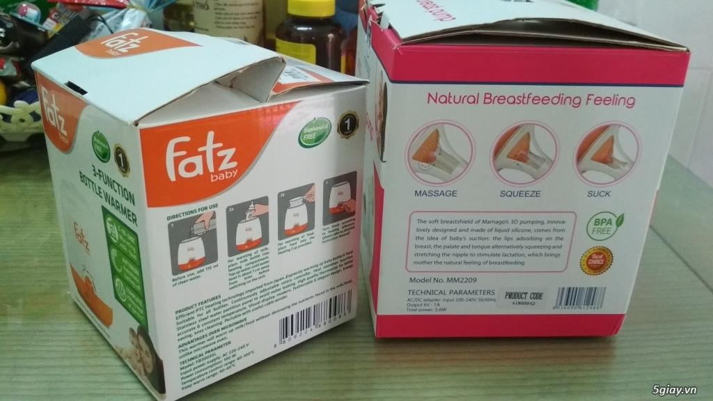 (Hot) Thanh lý máy Kích, hút sữa Mamago - Tặng máy Hâm sữa Fatz - 10
