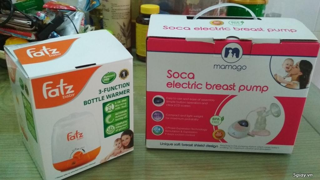 (Hot) Thanh lý máy Kích, hút sữa Mamago - Tặng máy Hâm sữa Fatz - 11