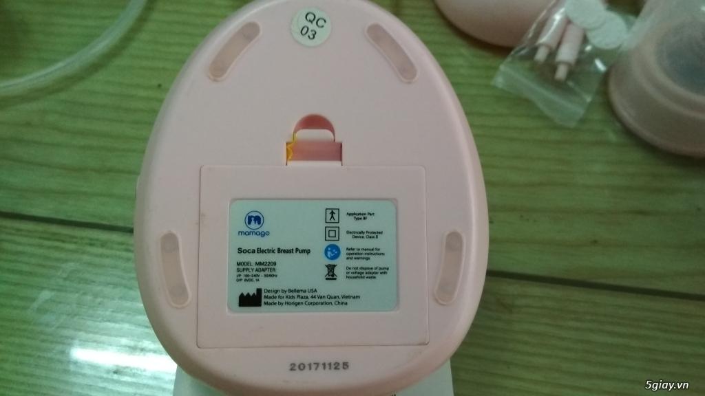(Hot) Thanh lý máy Kích, hút sữa Mamago - Tặng máy Hâm sữa Fatz - 2
