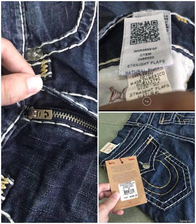 Quần jean si đa ( 2hand ) của các hãng Ông địa , D&G , A/X...  nhập từ USA , Italy ... - 27