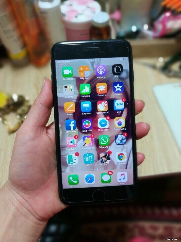 iphone 7 plus 128gb màu đen, quốc tế, bảo hành 10th thế giới di động - 3