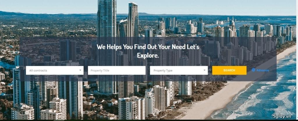 Nhận thiết kế các hệ thống website về giáo dục, bất động sản, đặt tour