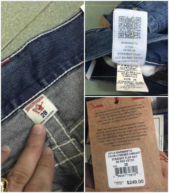 Quần jean si đa ( 2hand ) của các hãng Ông địa , D&G , A/X...  nhập từ USA , Italy ... - 44