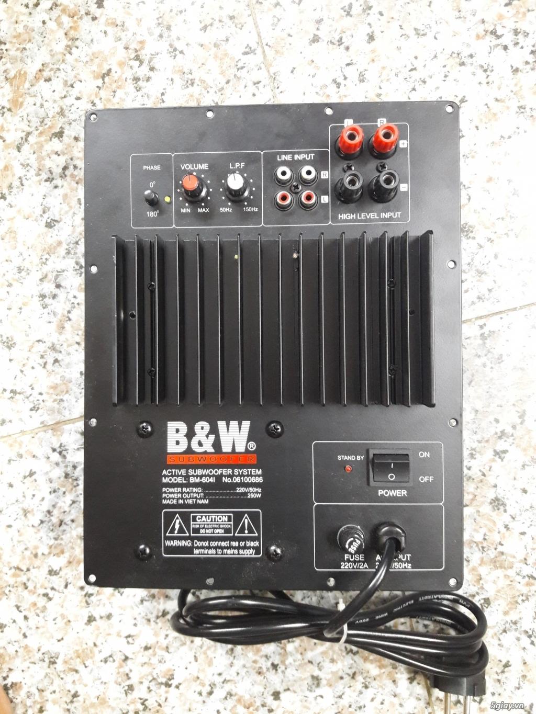 Mạch loa sub điện siêu trầm B&W 604i