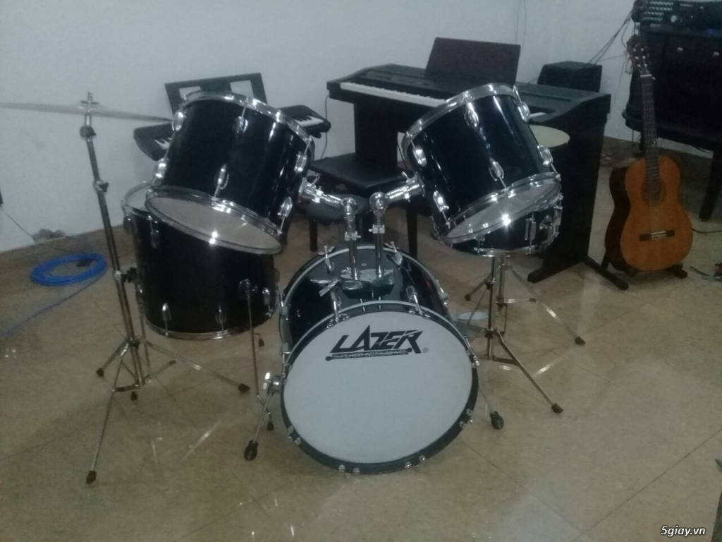 Bán trống jazz drum lazer giá siêu rẻ tại bình dương - 2