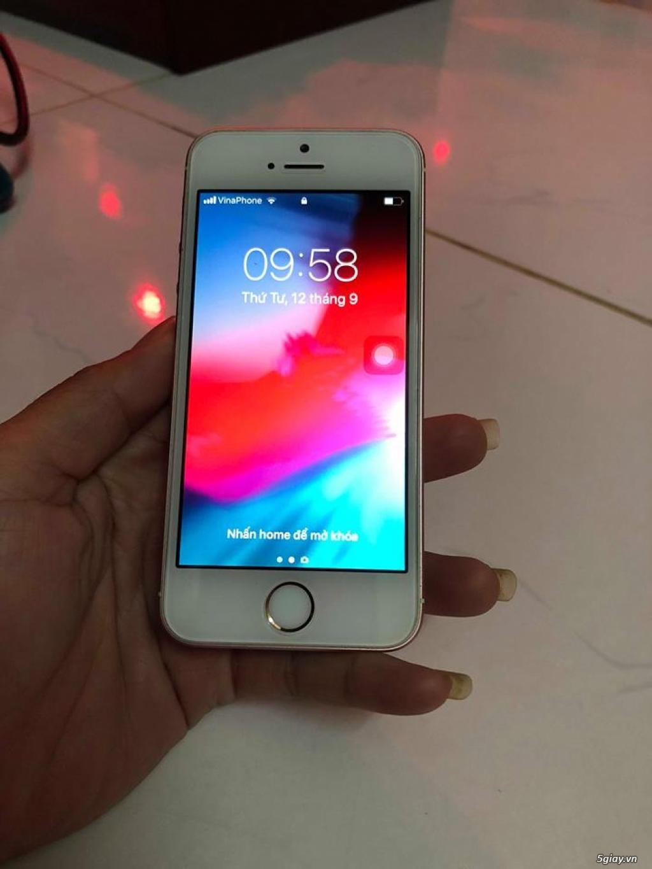 iphone SE-16gb-Vàng Hồng-Hàng VN-Zin 100% - 3