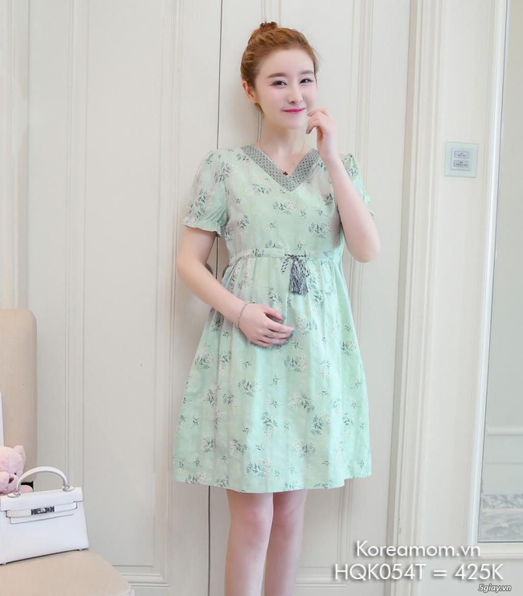 KoreaMom.vn - Đầm bầu thời trang ngoại nhập xinh lung linh - 12