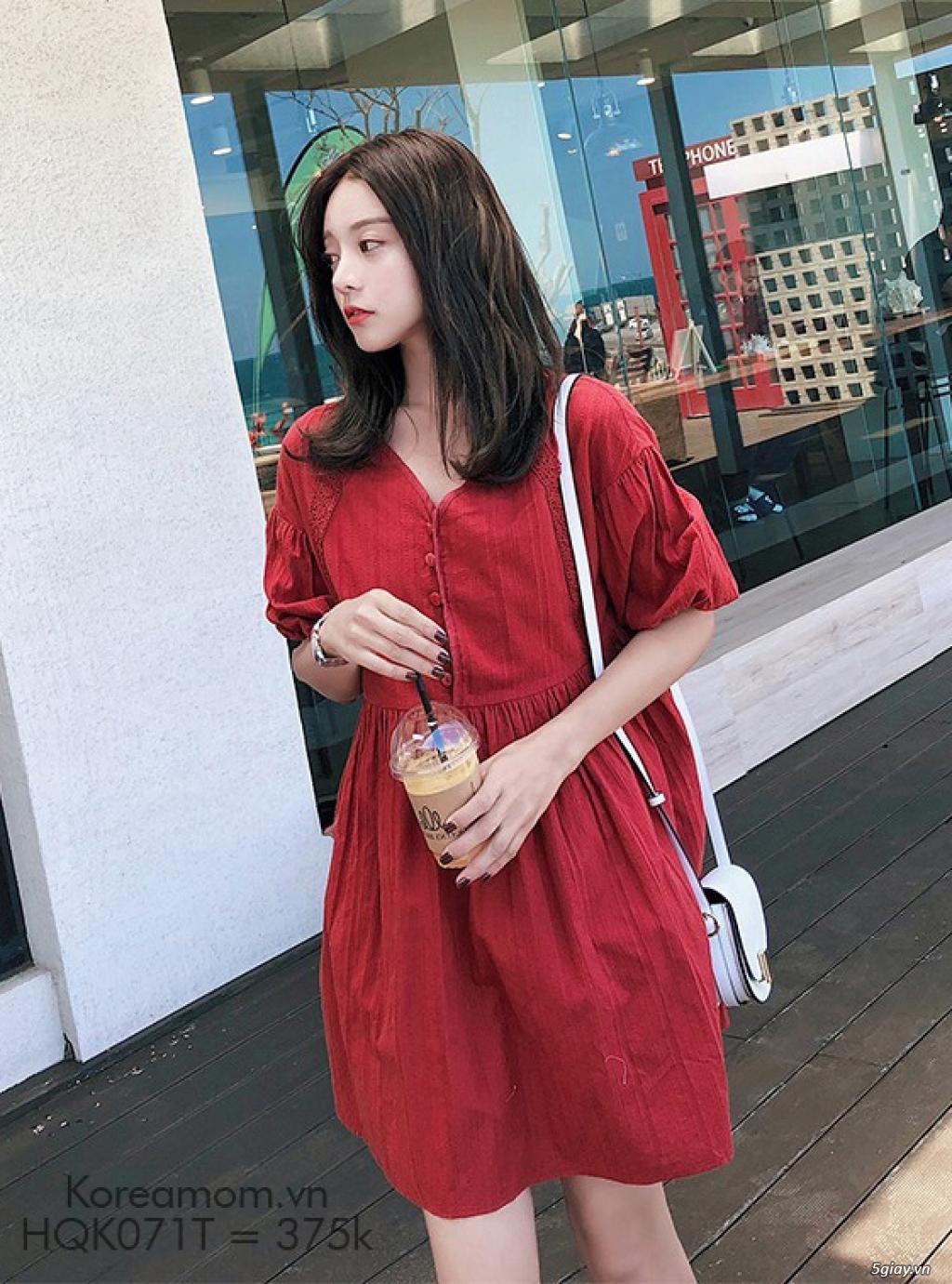 KoreaMom.vn - Đầm bầu thời trang ngoại nhập xinh lung linh - 4