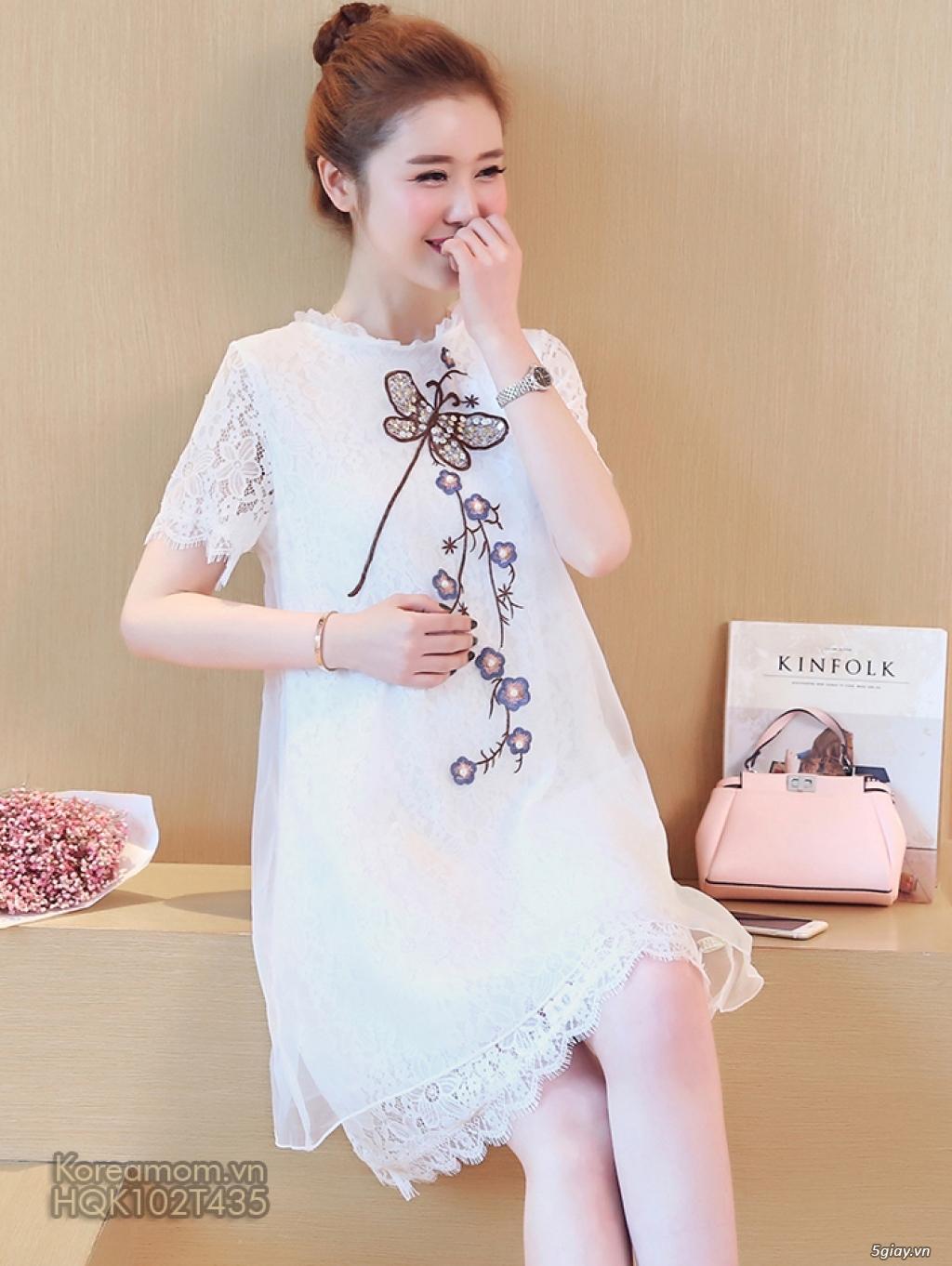 KoreaMom.vn - Đầm bầu thời trang ngoại nhập xinh lung linh - 5