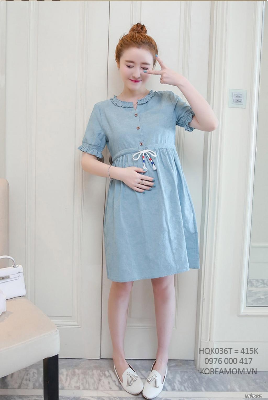 KoreaMom.vn - Đầm bầu thời trang ngoại nhập xinh lung linh - 14