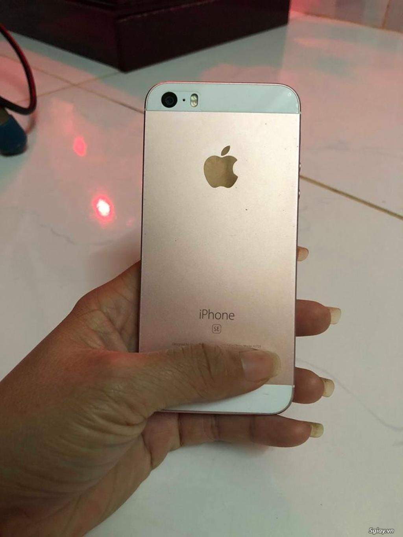iphone SE-16gb-Vàng Hồng-Hàng VN-Zin 100% - 4