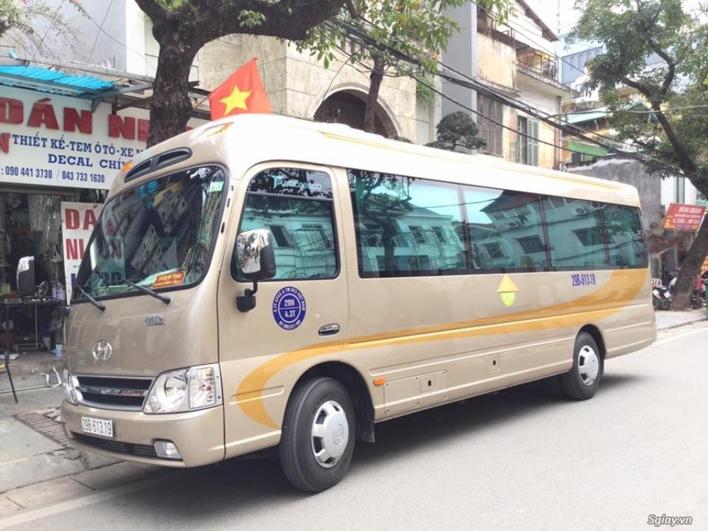 Cho Thuê Xe 29 chỗ giá rẻ tại Hà Nội - 0966730357