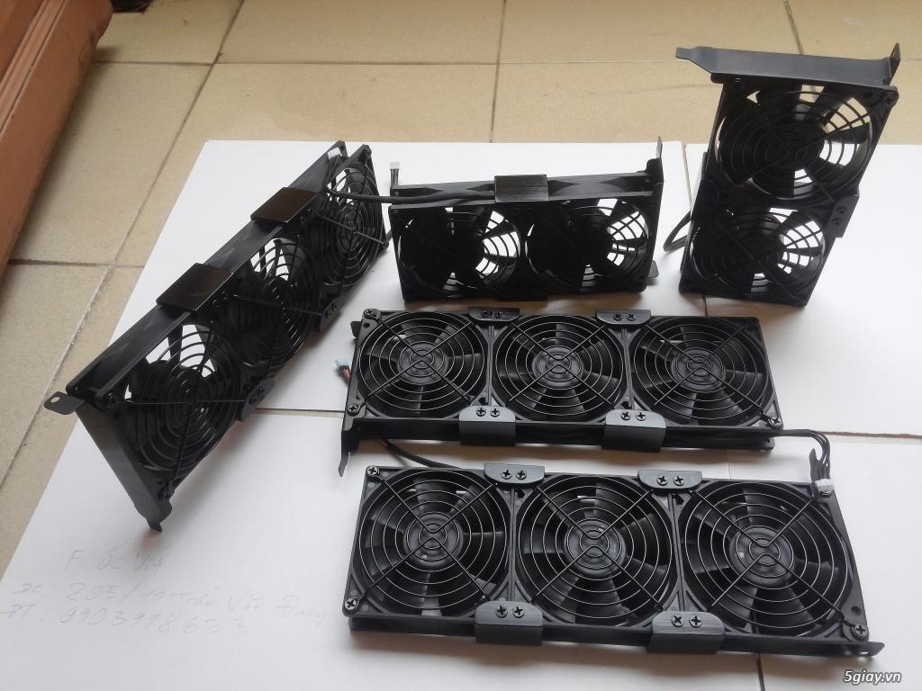 Hub Fan PWM, Backplate AMD 115x,775,1366clip 2011 gông, Ốc Đồ Mod Case - 8