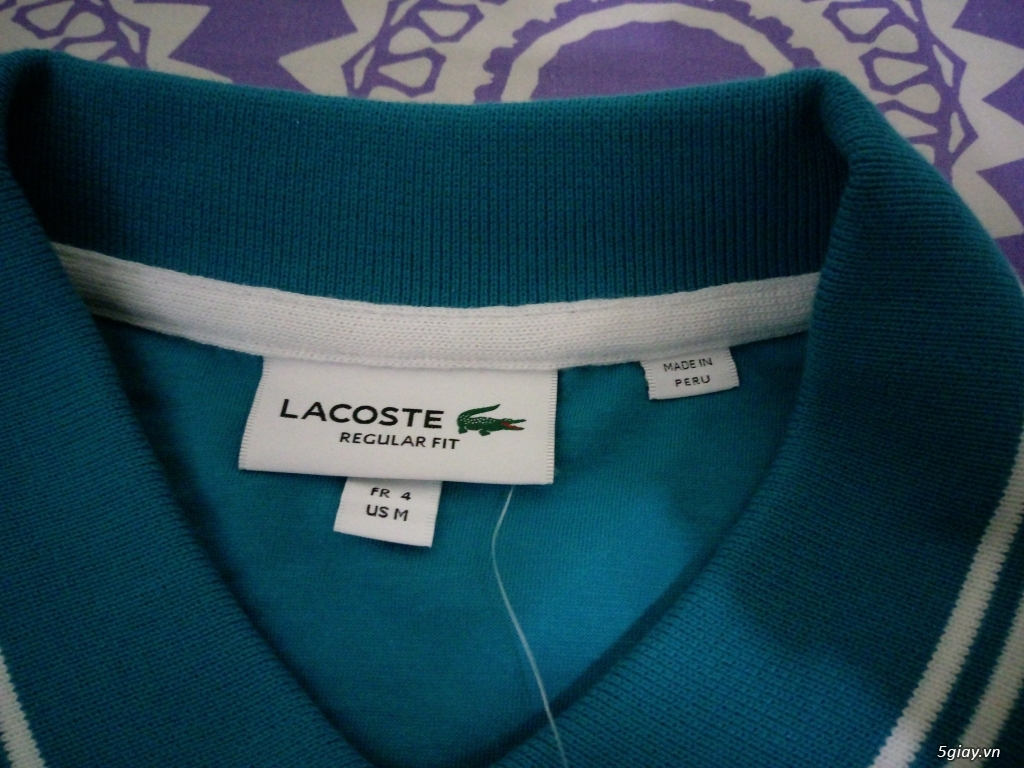 Áo Lacoste Original MỚI 100% Full tem tag lên sàn - 11