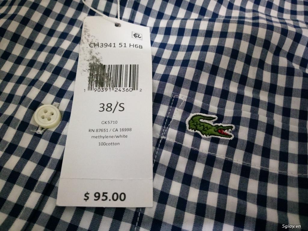 Áo Lacoste Original MỚI 100% Full tem tag lên sàn - 18
